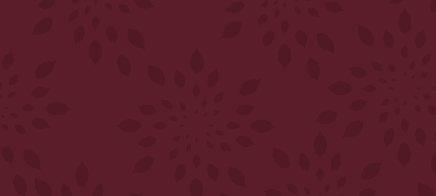 Burgundy Rendering of the Lemondrop Pattern