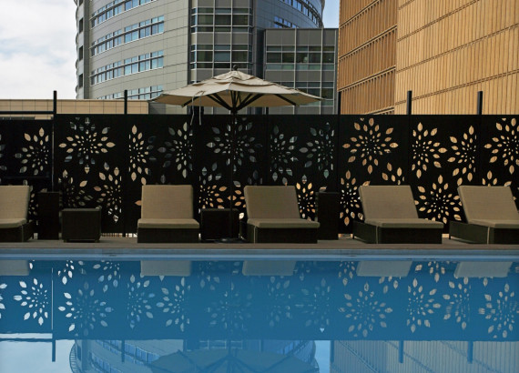 "Featured image for the Parasoleil™ ""Sheraton Denver Downtown Hotel Pool"" Case Study"